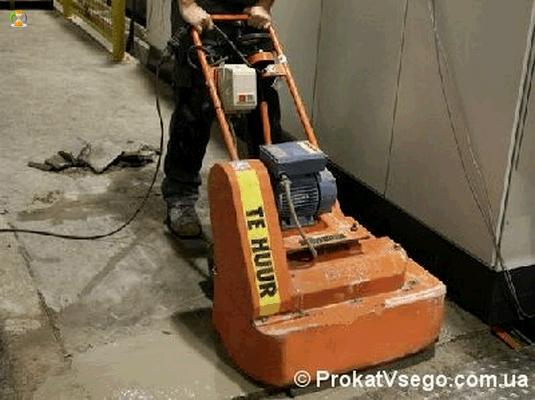 В аренду шлифовальные машины по бетонным полам
